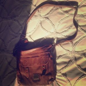 Fossil Long Strap Small Satchel